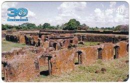 BRASIL M-596 Magnetic BrasilTelecom - Culture, Ruins - Used - Brésil