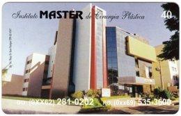 BRASIL M-598 Magnetic BrasilTelecom - Architecture, Building - Used - Brésil