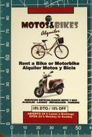 Minicards MOTOS & BIKES - Scooter Madrid  SPAGNA - Moto