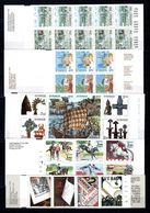 Zweden: 1990 - Verschillende Boekjes Postfris / Various Booklets MNH - 1981-..