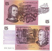 Australia - 5 Dollars 1991 UNC P. 44g Lemberg-Zp - Autres