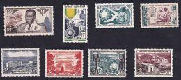 A.E.F. - Lot De 8 Timbres - Neuf** - Excellent Etat - Luxe (Aucuns Défauts) - Cote 24,75€ - A.E.F. (1936-1958)