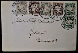 374 GERMANY DEUTSCHLAND ALEMANIA BAYERN BAVIERE 1904 Wurzburgo WUERZBURG Würzburg - Sonstige