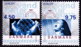 Danemark - Europa CEPT 2001 - Yvert Nr. 1280/1281 - Michel Nr. 1277/1278   ** - 2001