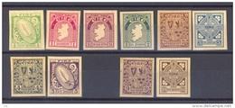 Irlande  -  1922 :  Mi  40 A - 50 A  (*)   Sauf 48 A - 1922-37 Stato Libero D'Irlanda