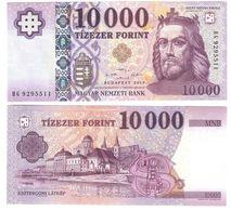Hungary - 10000 Forint 2019 UNC P. 206 Type 2 Serie HG84 Lemberg-Zp - Hungary