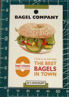 Pubblicità Minicards BAGEL COMPANY Sandwich & Coffee Berlino GERMANIA - Altre Collezioni
