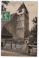 COURTENAY - L'Eglise, Tour Romane - Courtenay