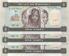 Erythrée - Eritrea : 1 Naïfs 1997 UNC (prix Par Billet) - Eritrea