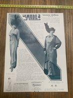 1913-14 NI LA MODE MLLE DEVIMEUR DE L ATHENEE MADO MINTY TAILLEUR DE LA MAISON DUKES - Colecciones
