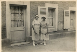 LUC SUR MER 1923 PHOTO ORIGINALE  11  X 8 CM - Orte