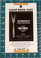 Pubblicità Minicards HARD ROCK Cafe Berlino GERMANIA - Altre Collezioni