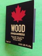 DSQUARED2 - WOOD - Echantillon - Parfums - Stalen
