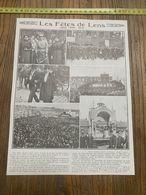 1913-14 NI LES FETES DE LENS MIMI PINSON MARIA GODARD - Collections