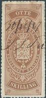 DANIMARCA-DANMARK, 1867 Revenue Stamp Used - Fiscali