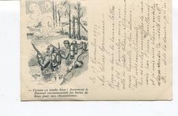 CPA - Ch. Léo - Comme ça Tombe Bien! Justement Le Docteur Recommandait Les Bains De Boue Pour Mes Rhumatismes - - War 1914-18