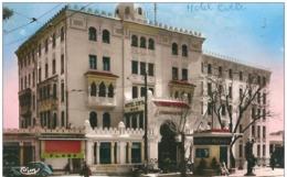 Algérie  CONSTANTINE - Hotel CIRTA  ,(  Pompe à Essence MOTO GAZ ) - Constantine