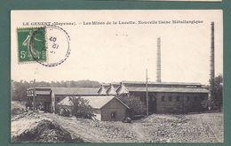 LE GENEST-mines De La Lucette,nouvelle Usine Metallurgique,acierie-2scans - Le Genest Saint Isle