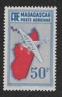 MADAGASCAR 1938 YT PA 14** - MNH - Aéreo