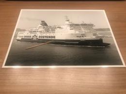 Oostende Dover Foto Picture Photo Prins Filip RMT - Dampfer