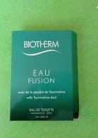 BIOTHERM - Echantillon - Parfums - Stalen