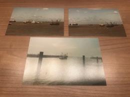 3 Foto's Van Vissersboten - Fischerei