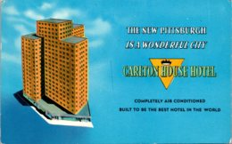 Pennsylvania Pittsburgh Carlton House Hotel 1959 - Pittsburgh
