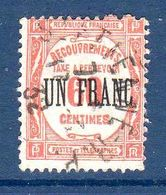 1927 France Taxe N°63    0,30 € (cote 2 €, 1 Valeur) - 1859-1955 Used