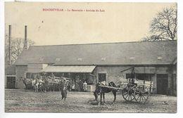 50. Benoistville (Benoitville), Beurrerie. Arrivée Du Lait. - Autres Communes