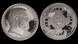 """Greece 10 Euro 2020 Silver Proof """"THE BATTLE OF SALAMIS"""" """"free Shipping Via Registered Air Mail"""" - Grèce"""