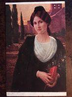 """Cpa, SALON DE PARIS - Tableau De Mlle ELISABETH SONREL - """"MIREILLE"""", éd Lapina Paris N° 1539 - Peintures & Tableaux"""