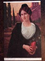 "Cpa, SALON DE PARIS - Tableau De Mlle ELISABETH SONREL - ""MIREILLE"", éd Lapina Paris N° 1539 - Pintura & Cuadros"