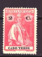 Kaapverdië / Cabo Verde / Cape Verde 145 MNG (1914) - Cap Vert