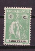 Kaapverdië / Cabo Verde / Cape Verde 178 MH * (1922) - Cap Vert
