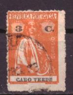 Kaapverdië / Cabo Verde / Cape Verde 179 Used (1922) - Cap Vert