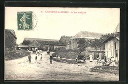 CPA Chauvency-Saint-Hubert, La Rue De L`Èglise - Ohne Zuordnung