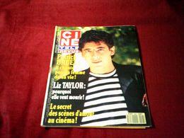 PATRICK BRUEL  °° IL CHANTE POUR LA FEMME DE SA VIE   CINE REVUE  N° 23  LE  7 JUIN 1990 - Cinema