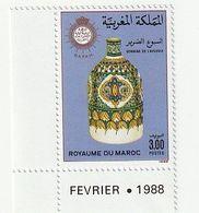 Maroc. Coin Daté D'un Timbre, Yvert Et Tellier N° 1050 De 1988. Semaine De L'aveugle. - Handicaps