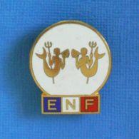 1 BROCHE //  ** E.N.F. / ÉCOLE DE NATATION FRANÇAISE / 2ème TRITON ** . (Elie Mardini) - Nuoto