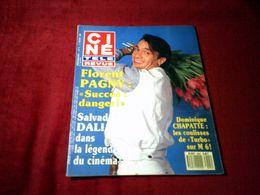 FLORENT PAGNY   °  SUCCES DANGER    CINE REVUE  N° 5  LE  2 FEVRIER 1989 - Cinema