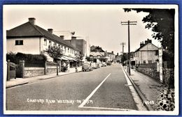 RARE CPSM ANGLETERRE - WESTBURY ON TRYM - Canford Road - Voitures Anglaises - BRISTOL - Bristol