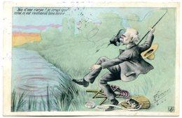 Illustrateur F. MARMONIER - La Pêche à La Godasse - Siège, Bourriche, Boîte à Asticots - Fishing