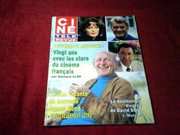 BOURVIL   °°  VINGT ANS AVEC LES STARS DU CINEMA FRANCAIS    CINE REVUE  N° 33 LE 15 AOUT 1985 - Cinema