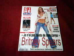 BRITNEY  SPEARS   °° JE N'AI PAS HONTE DE MON CORPS    CINE REVUE  N° 11 LE 14 MARS 2002 - Cinema
