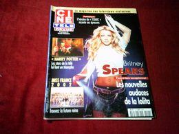 BRITNEY  SPEARS   °° LES NOUVELLES AUDACES DE LA LOLITA   CINE REVUE  N° 49  LE 6 DECEMBRE 2001 - Cinema