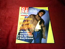 MICHAEL JACKSON   °° SA VIE SECRETE / SA FORTUNE / SON DRAME    CINE REVUE  N° 7 LE 16 FEVRIER 1984 - Cinema