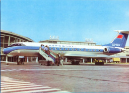 "SSSR. Ukraina. Kiew. ""Aeroflot"" TU-134 65742 At The Aerodrome Of Borispol. - Aeródromos"