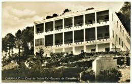 Caramulo - Casa De Saúde Dr. Monteiro De Carvalho - Ed. Perfumarias Do Grande Sanatório - Tondela Viseu - Viseu