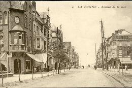 DE PANNE : Avenue De La Mer - De Panne