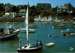 Locquirec Le Port Et Le Centre Nautique 1983     CPM Ou CPSM - Locquirec